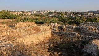 preview picture of video 'Arqueologia Biblica, Nos Passos de Sansão - Tel Beit Shemesh'