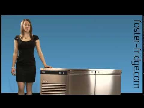 Foster Fridge Eco Pro G2 Counter Refrigerator, Freezer & Meat Range - EP 1/2, EP 1/3 & EP 1/4
