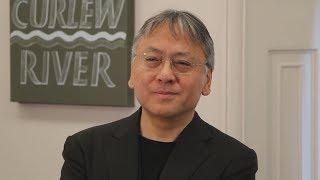 「日本に感謝」とイシグロ氏ノーベル文学賞受賞で会見