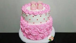 TORTA O PASTEL PARA BABY SHOWER 🍼BABY SHOWER CAKE