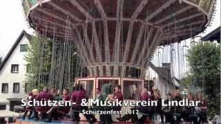 preview picture of video 'Musikverein Lindlar auf dem Kettenkarussel beim Schützenfest'