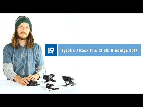 Tyrolia Attack 11 & 13 Ski Bindings 2017