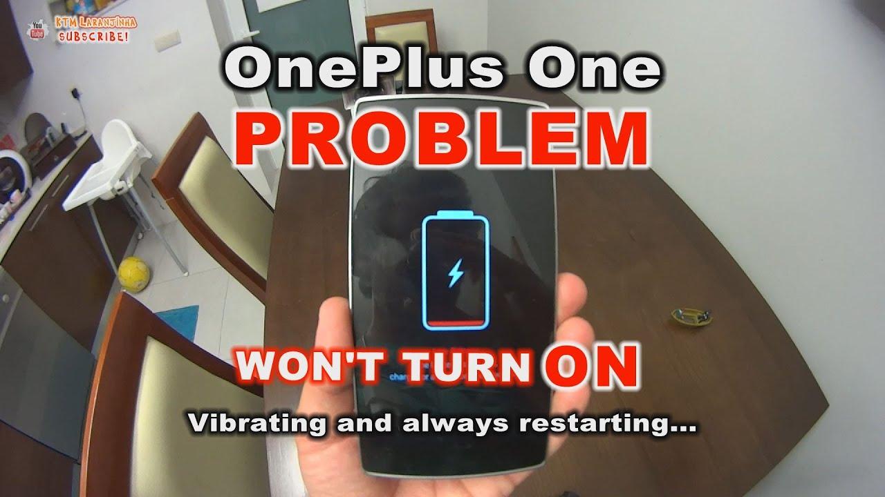Solução: OnePlus One não liga