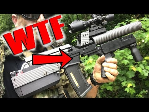 You've never seen an AIRSOFT GUN like this!