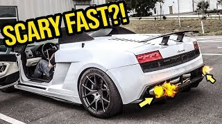 Driving My Cheap Homemade Turbo Lamborghini Scared The CRAP Out Of Me