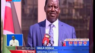 Raila Odinga accuses the government of deliberately creating the current maize shortage