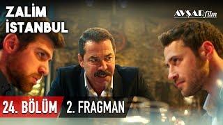 """Nedim aşkı mı yoksa intikamı mı seçecek? Zalim İstanbul 24. Bölüm 2. Fragmanı Yayında!  Cenk ve Cemre boşanacak mı? Nedim ve Cenk, Agah'ın huzurunda yüzleşiyor! Nedim şimdi aşkını mı seçecek yoksa intikam için aşkını görmezden mi gelecek? Tüm cevaplar 23 Aralık Pazartesi akşamı Kanal D'de.   Yapımcılığını Avşar Film'in üstlendiği ZALİM İSTANBUL 24. Bölüm 23 Aralık Pazartesi akşamı Kanal D'de.   Zalim İstanbul 23. Bölümden en özel sahneleri izlemek için tıklayın; https://www.youtube.com/playlist?list=PLGq8JCkcsJKA6z_hg3N-jc6wXYeXcewNt  Her bölümden diziye özel kamera arkası görüntüleri, röportajlar ve çok daha fazlası için ZALİM İSTANBUL YouTube kanalında.  HEMEN ABONE OLUN; https://www.youtube.com/zalimistanbul  Avşar Film YouTube kanalına abone olarak yüklenen tüm videolardan anında haberdar olabilirsiniz.  HEMEN ABONE OLUN; https://www.youtube.com/AvsarFilm  """"ZALİM İSTANBUL"""" birinci sezonun tüm bölümlerini izlemek için tıklayın; https://www.youtube.com/playlist?list=PLGq8JCkcsJKBqzr8yUwX6OPqJrSwopGO5  Oyuncular: Fikret Kuşkan (Agah Karaçay), Deniz Uğur (Seher Yılmaz), Mine Tugay (Şeniz Karaçay), Ozan Dolunay (Cenk Karaçay), Simay Barlas (Damla Karaçay), Berker Güven (Nedim Karaçay), Bahar Şahin (Ceren Yılmaz), Sera Kutlubey (Cemre Yılmaz), İdris Nebi Taşkan (Civan Yılmaz), Ayşen Sezerel (Neriman), Gamze Demirbilek (Nurten)  Yapımcı: Şükrü Avşar Yönetmen : Cevdet Mercan Öykü/Senaryo: Sırma Yanık Görüntü Yönetmeni: Volkan Aslan Genel Sanat Yönetmeni: Aynur Topalak & Aslı Özdemir  Resmi Sosyal Medya Hesapları: https://www.instagram.com/zalimistdizi https://www.facebook.com/zalimistdizi  https://www.twitter.com/zalimistdizi  #zalimistanbul #fragman #dizi #avşarfilm #kanald"""