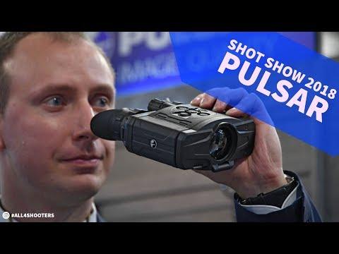 SHOT Show 2018: Pulsar Accolade thermal imaging Binoculars