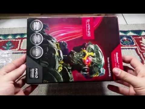 R7 250 2Gb GDDR3 BOOST SAPPHIRE Unboxing 4K [Usada] Mercado Livre