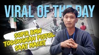 VIRAL OF THE DAY: Pengemudi BMW yang Keluarkan Pistol saat Macet Ditangkap Polisi