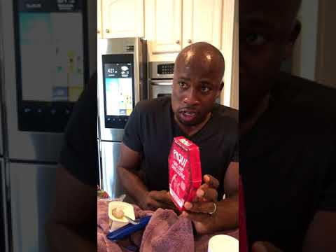 Host of NBC American Ninja Warrior Akbar Gbaja-biamila has an intense physical reaction to the Paqui One Chip Challenge.