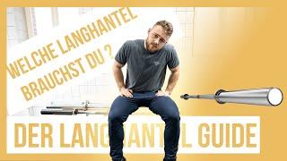 Welche Langhantel ist die Richtige für mich? Der Langhantel Guide / Berlin Barbell