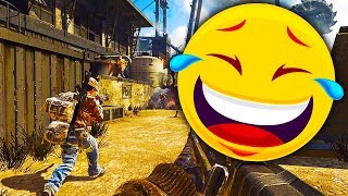 I ALMOST DIED LAUGHING 🤣 - THE MOST HILARIOUS ANNOUNCER ON GUN GAME BLACK OPS 1 (FUNNY MOMENT)