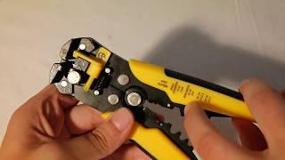 Werkzeug-Review: 3 in 1 Automatische Abisolier- und Crimpzange
