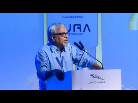 Jayendra Panchapakesan at Jaguar RITZ Entrepreneurship Summit 2016, Chennai