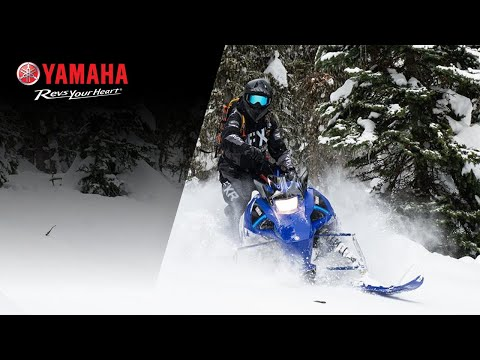 2021 Yamaha SXVenom Mountain in Ishpeming, Michigan - Video 1