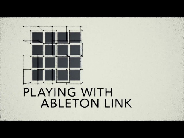 MPC Lounge: Playing with Ableton Link