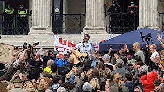 Feldughatjátok az Új Világrendet a seggetekbe... Londoni tüntetés a szabadságért