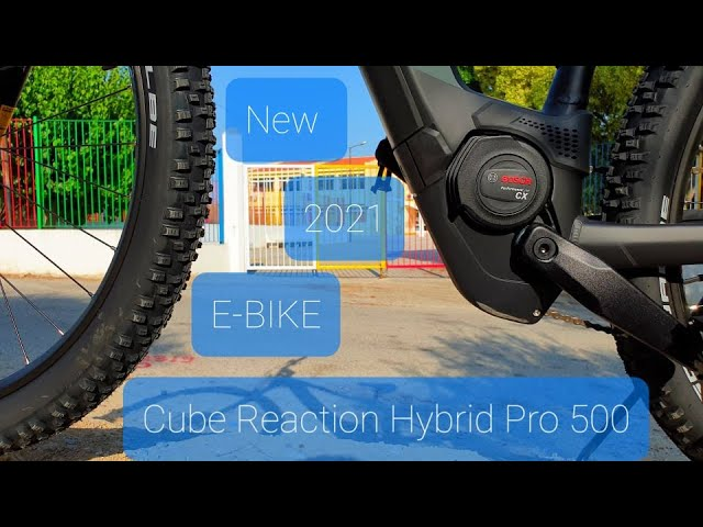 Видео Велосипед Cube Reaction Hybrid Pro 500 petrol´n´orange