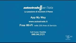 Autostrade Per L'Italia   Canale 5 HD 1080p60fps