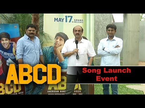 ABCD - American Born Confuesed Desi Movie Song Launch
