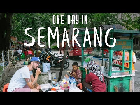 ONE DAY IN SEMARANG, JAVA, INDONESIA - VLOG#7