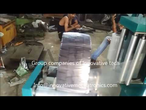 Tread Rubber Stretch Wrapping Machine