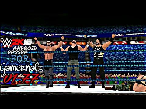 350MB] Download WWE 2K18 Gamernafz Mod V1 77 Highly