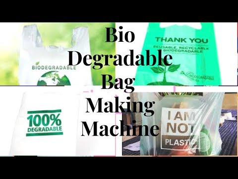 Bio Degradable Plastic Bag Making Machine