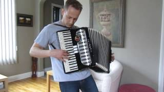 split enz - six months in a leaky boat - on accordion