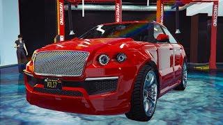 Обзор автомобиля: Enus Huntley S. Городской пижон. GTA Online.
