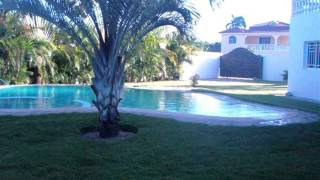 preview picture of video 'Villa in Sabaneta Dominican Republic For Sale - Luxury Tropical Island Home and Retreat'
