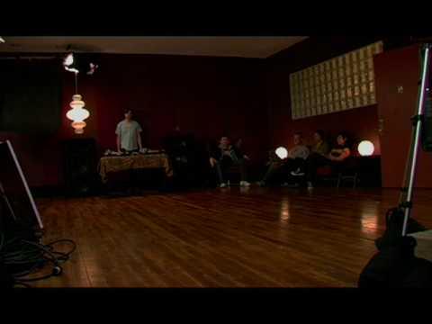 LCD Soundsystem - Daft Punk... Video Shoot 2004 - Cliktrax