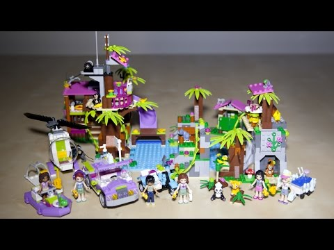 Vidéo LEGO Friends 41038 :  La base de sauvetage de la jungle