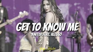 /Español/Anitta feat. Alesso - Get to Know Me/Sub.