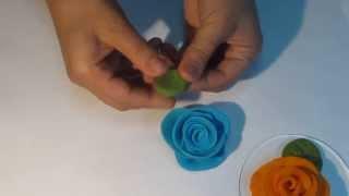 ורד מפלסטלינה