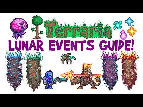 Terraria Lunar Event Guide! Celestial Pillars/Towers Boss Fight, How To Summon & Gameplay! Mp3