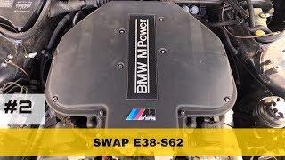 Проект BMW E38 M7  | часть 2 | Завелась! | BMWeast Garage
