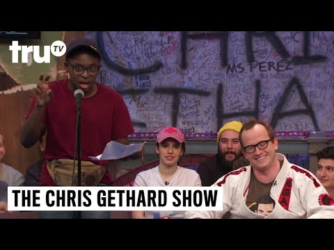 The Chris Gethard Show - Chris Gethard's Assistant Reads His Texts On Live TV | truTV