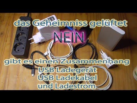 USB Ladegeräte Ladekabel Ladestrom im Test