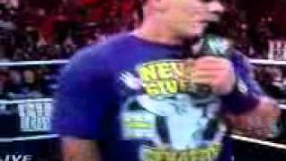 WWE John Cena hip hop to the rock