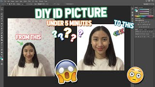 Create your ID Picture at home under 5 minutes! | Hannah Elyne | (Philippines)