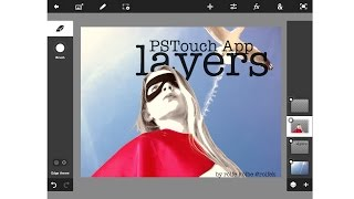 PSTouch App Working With Layers And Transparencies