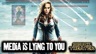 The Media is lying to you about CAPTAIN MARVEL