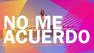 No Me Acuerdo - Thalía, Natti Natasha / Baile Fit (Coreografía) Moreno Dance