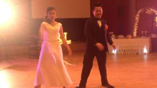 Thinking Out Loud Wedding Dance & Forever by Chris Brown