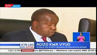 Chuo kikuu cha Nairobi yafutilia mbali cheti cha seneta wa Meru Mithika Linturi