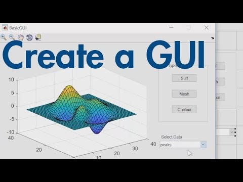 How to Create a GUI with GUIDE – MATLAB Tutorial