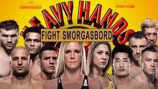 Fight Smorgasbord! UFCs Auckland & Singapore (Heavy Hands #163)