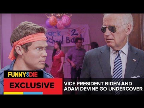 Vice President Biden and Adam Devine Go Undercover
